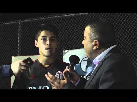 Dylan Sacramento TFC Academy Interview