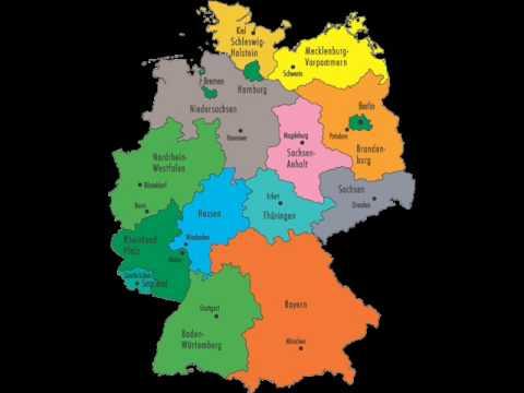 Deutschland bundeslander hauptstadte