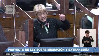 Nueva Ley de Extranjería y Migración sobre votaciones en sala senado 9 9 2020 Parte 1 de 5