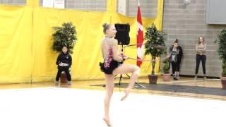 Trillium Rhythmic 2015 - Vivienne Lee Motkine - Hoop - National Junior
