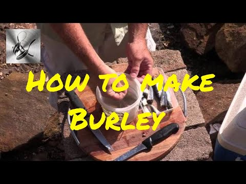 How to make your own burley | The Hook and The Cook