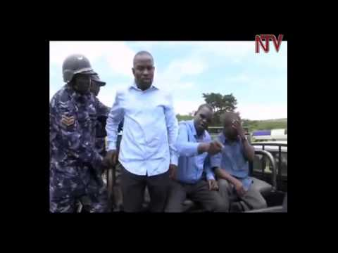 Shocking Video Uganda Police strip female opposition leaderZaina Fatuma naked while arresting her in