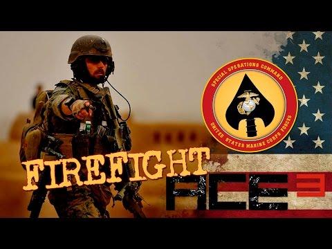 Arma 3 - ACE3 - Kunduz Afghanistan - Firefight - Marsoc despejando complejos
