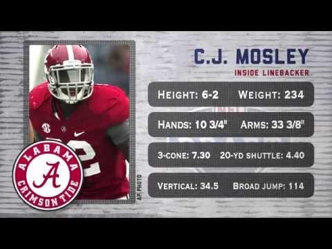 C.J. Mosley - 2014 NFL Draft profile