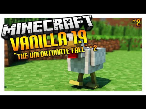 ★Let's Play Minecraft 1.9 - VANILLA SURVIVAL - The Unfortunate Fall Episode 2 (Let's Play)★