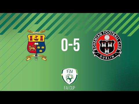 FAI Cup First Round: College Corinthians 0-5 Bohemians