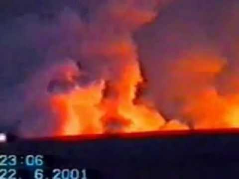 Взрывы на складе боеприпасов в г. Нерчинск в 2001 году.