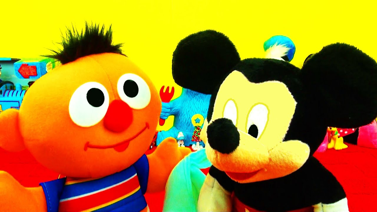 Baby Sniffles Ernie Toy Sings Sesame