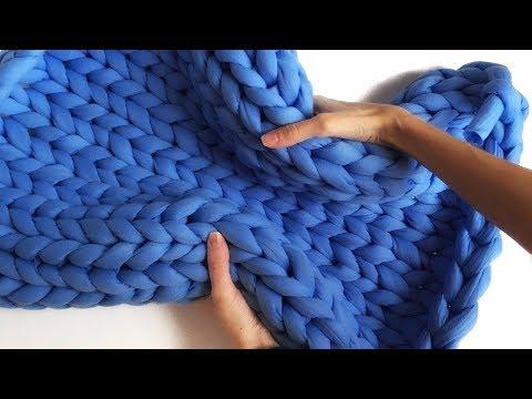 толстая пряжа для вязания руками тестируем и распускаем Youtube