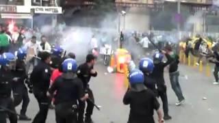 Hooligans randalieren beim Rollstuhl-Basketball