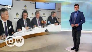 Сечин в Берлине или Санкции  Роснефти  не помеха   DW Новости (19 05 2017)
