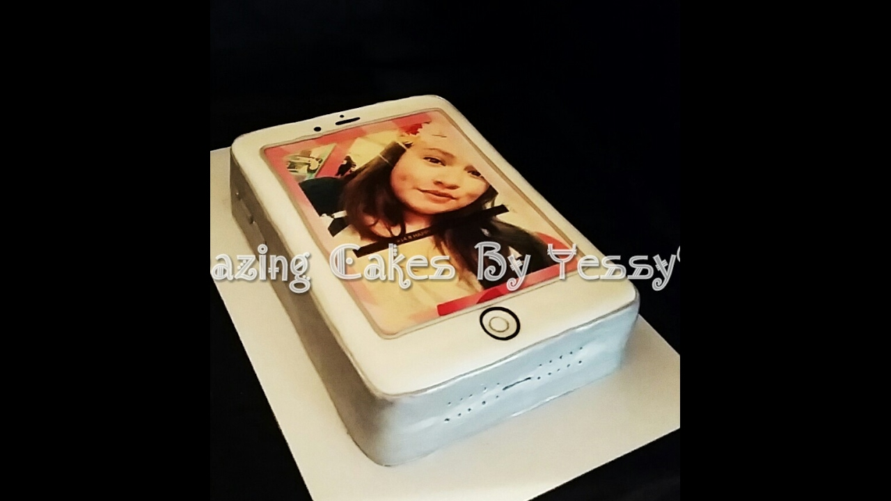 HOW DO I MAKE iPHONE 6 CAKE COMO HACER PASTEL DE iPHONE YouTube