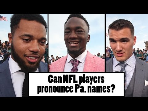 NFL players try (and fail) to pronounce Pennsylvania names at NFL Draft