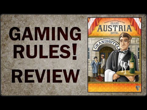 Gaming Rules! Review of Grand Austria Hotel