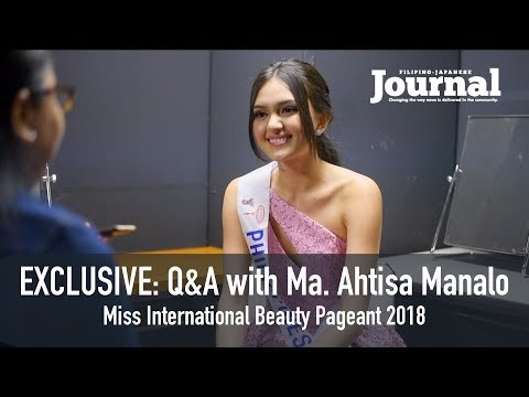 Filipino-Japanese Journal EXCLUSIVE: Q&A with Ma. Ahtisa Manalo