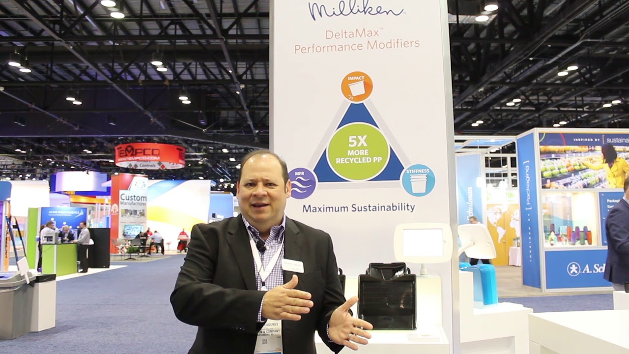 Milliken presentó innovaciones para PP virgen y reciclado