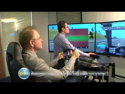 simulateur de conduite develter e m6 les effets des m dicaments sur la conduite youtube. Black Bedroom Furniture Sets. Home Design Ideas