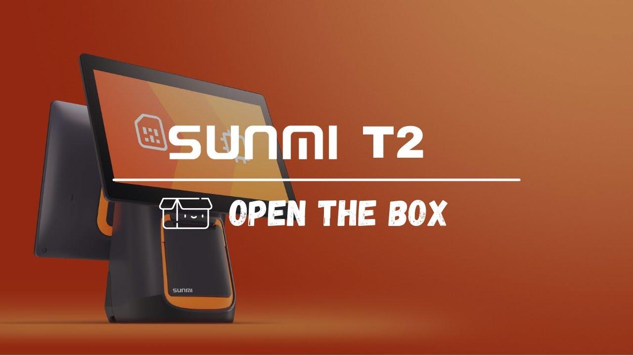 Sunmi T2 - open the box