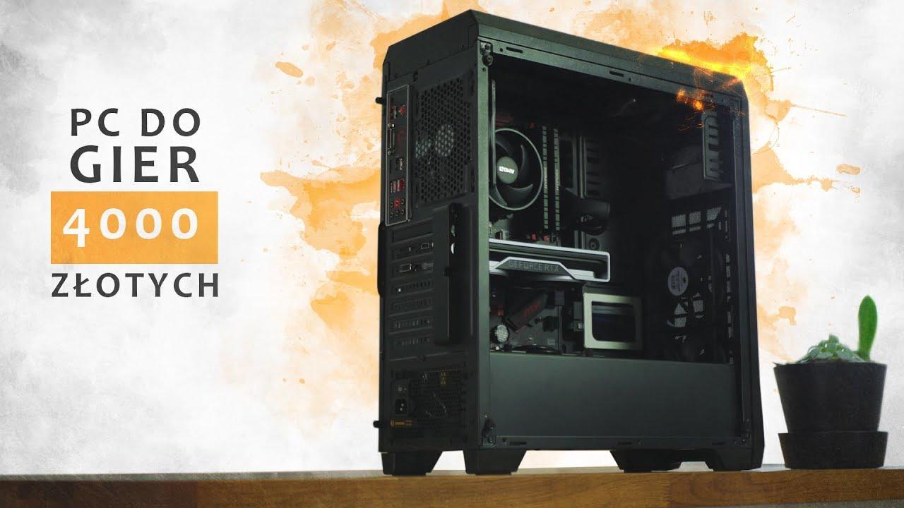 PC do GIER za 4000 PLN ???? EDYCJA 2019