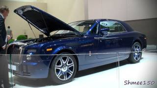 Johnny English's 9.0l V16 Rolls Royce Phantom Coupe - Frankfurt IAA Motorshow 2011