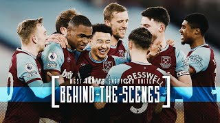 BEHIND THE SCENES | WEST HAM UNITED INTO THE TOP FOUR