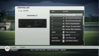 Fifa 12 Controls for Keyboard HD 1080p