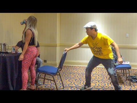 Chair Pulling Prank in Toronto!!!