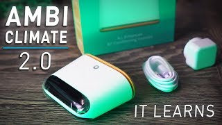 Ambi Climate 2.0 - Make your Aircon a SMART Device that LEARNS!