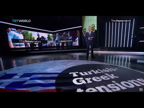 The Newsmakers: Catalan protests and Turkish-Greek tensions