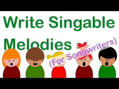 Songwriting - A Powerful Trick for Writing Singable Melodies
