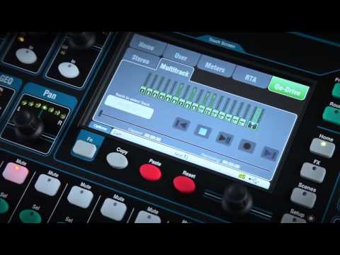 Allen & Heath QU24 Studio & Live Recording Digital Mixer Overview