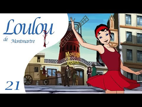 Loulou De Montmartre EP21 - Le Fantôme De Loulou - Dessin Animé Français !