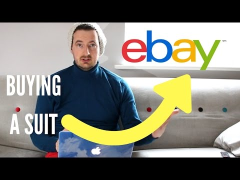 Ebay Men's fashion ootd. Buying Clothes on a Budget. Cheap Suits. Suits on a massive discount!