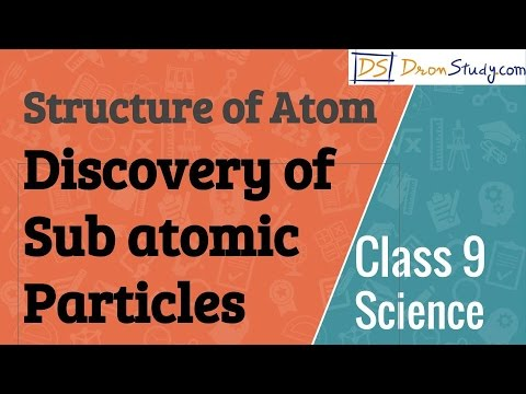 Discovery of Sub atomic Particles - Structure of Atom  : CBSE Class 9  IX Science