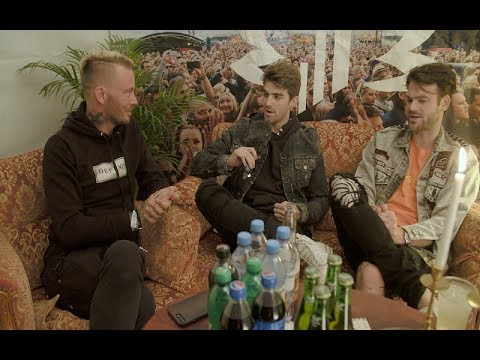 Jocke träffar The Chainsmokers