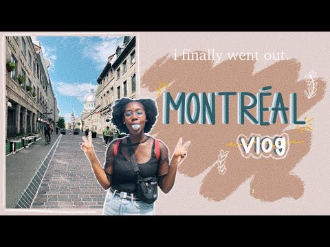 ✰ I SPENT A DAY IN MONTRÉAL ✰  (a Vlog)