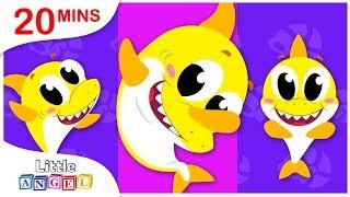 Baby Shark Learns the Dab Dance, Yum Yum Healthy Vegetables, Nursery Rhymes by Little Angel