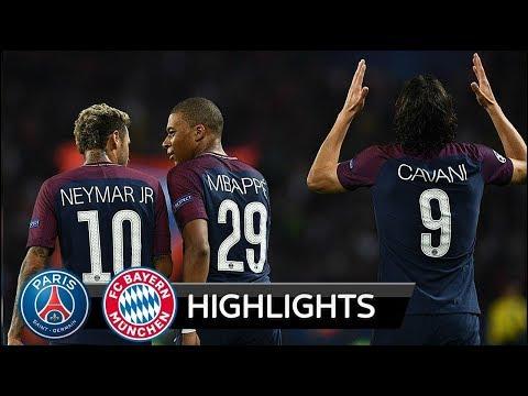 PSG vs BAYERN MUNICH 3-0 ● All Goals & Highlights HD ● Champions League 27/09/2017