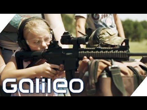 Kinder Am Sturmgewehr: Prepper In Den USA | Galileo | ProSieben