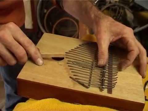 fabrication d une sansa a partir d une boite de ciguares