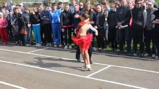 Открытие соревнований по легкой атлетике