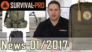 News 2017 01 - die neuesten und coolsten Outdoor+Survival-Produkte
