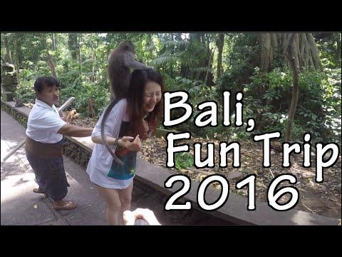 BALI TRIP 2016 - 12 FUN ATTRACTIONS