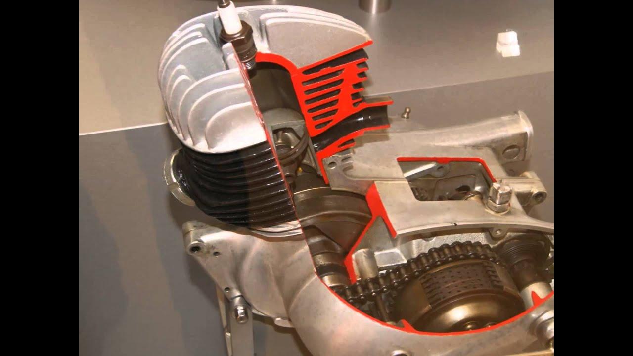 mz rt 125 motor schnittmodell schnittmotor oldtimer ddr. Black Bedroom Furniture Sets. Home Design Ideas