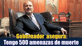 Tengo 500 amenazas de muerte: César Duarte