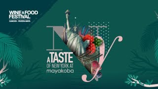 A Taste of New York at Mayakoba