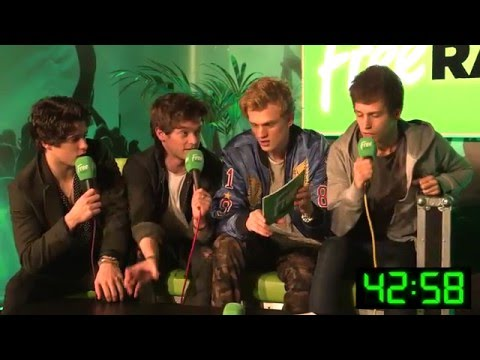 The Vamps at Free Radio Live -  Guess The Celeb