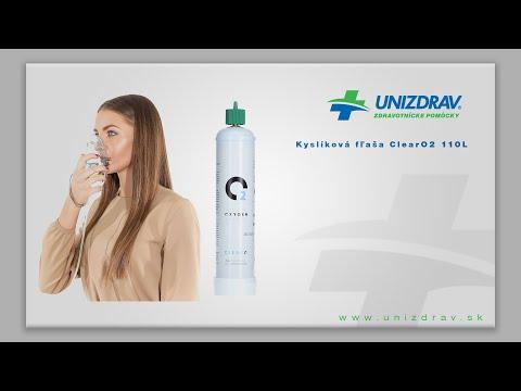 Kyslíková fľaša ClearO2 110l