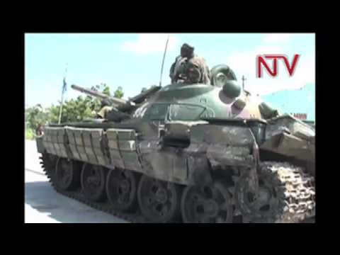 Sierra Leone forces join  AMISOM  troops in Somalia.