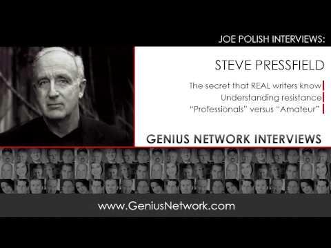 Steve Pressfield: Genius Network Interviews